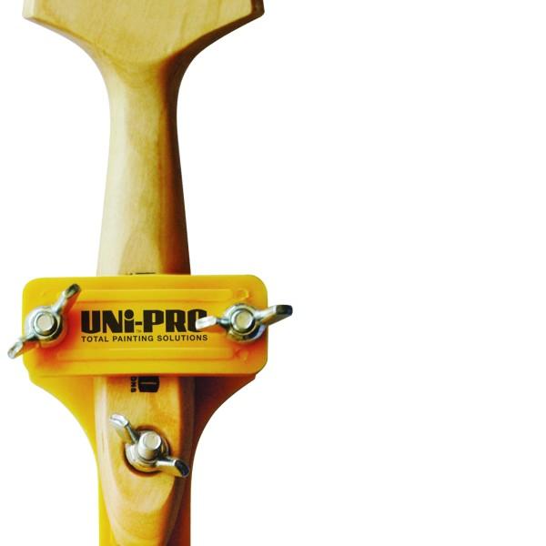 UNi-PRO Extension Pole Brush & Tool Clamp 1