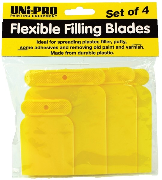 UNi-PRO Flexible Filling Blades 4 pce 1