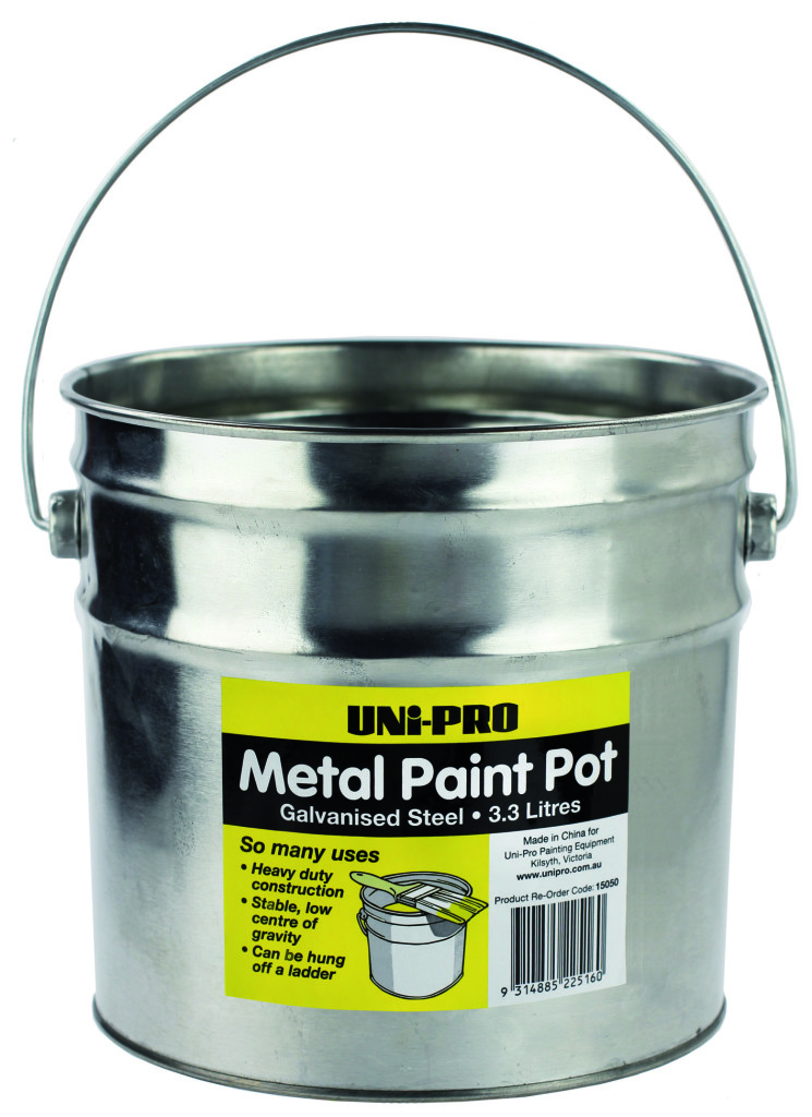Uni-PRO Metal Paint Pot 3