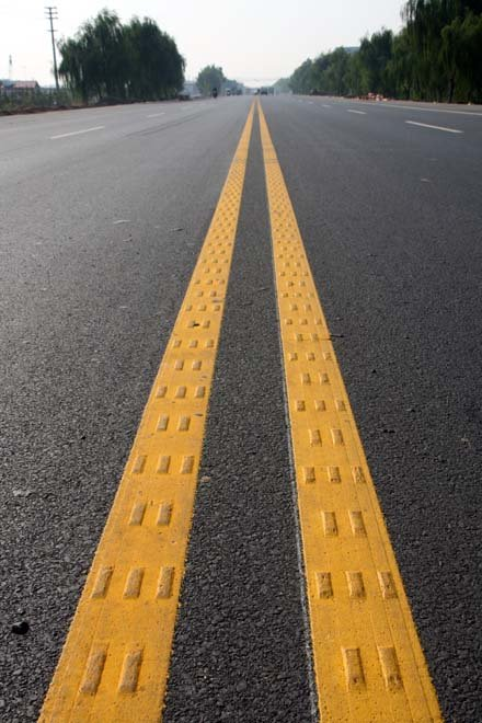 Road Marking Extrusion Thermoplastic Yellow 1