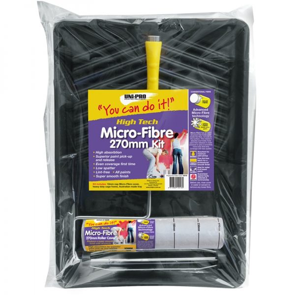 UNi-PRO High Tech Micro-Fibre Roller Kit 270mm 1