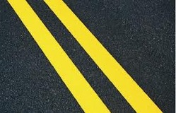 Road Marking Spray Thermoplastic Yellow 1