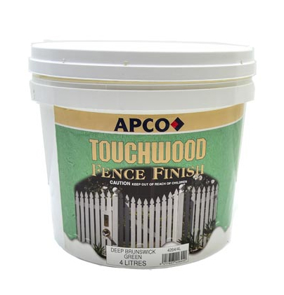 Touchwood Acrylic Fence Finish 1