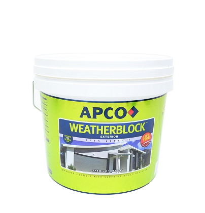 WeatherBlock Acrylic Low Sheen 1