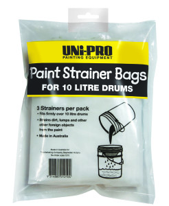 UNi-PRO Paint Strainer Bags for 10/20 Litre Tins 3 pack