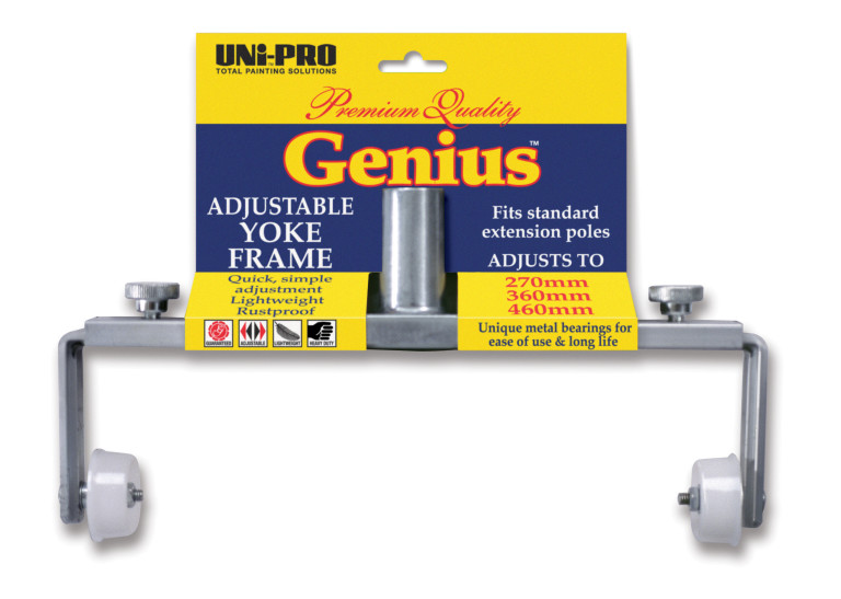 Genius Adjustable Aluminium Yoke Frame 270-460mm 1