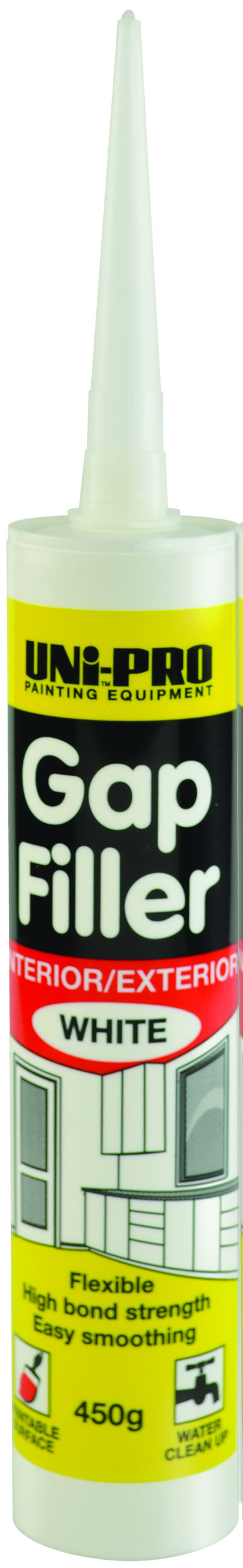 UNi-PRO Gap Filler Interior / Exterior 450gm 1