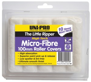 "UNi-PRO ""Little Ripper"" Fabric Covers - 10 Pack 100mm"