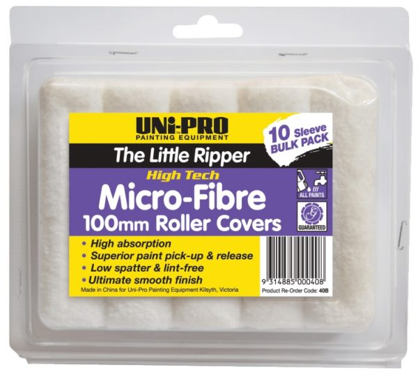 """UNi-PRO """"Little Ripper"""" Fabric Covers – 10 Pack 100mm 1"""