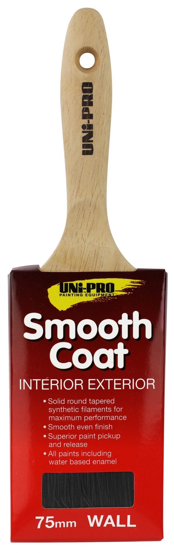 Smooth Coat Synthetic Brush 75mm 1