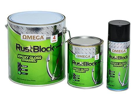 Rustblock Epoxy Gloss Enamel 1