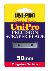 UNi-PRO H/Duty Tungsten Blade Single 50mm