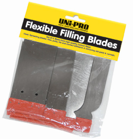 UNi-PRO Flexible Fill Blade Set 4 Pcs 1