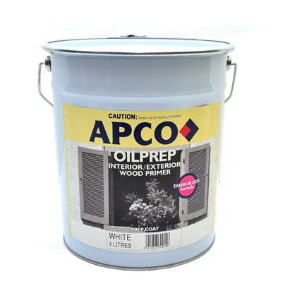 Oil Prep Wood Primer Interior/Exterior 1