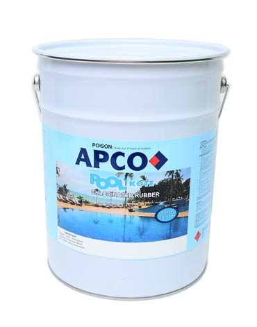 Poolkote Chlorinated Rubber Pool Paint 1