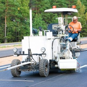 Road Marking Spray Thermoplastic White