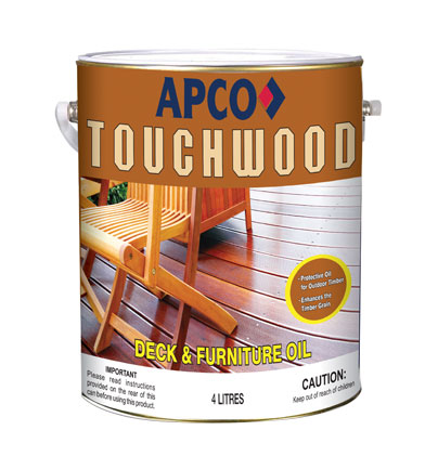 Touchwood Deck and Furniture Oil 1