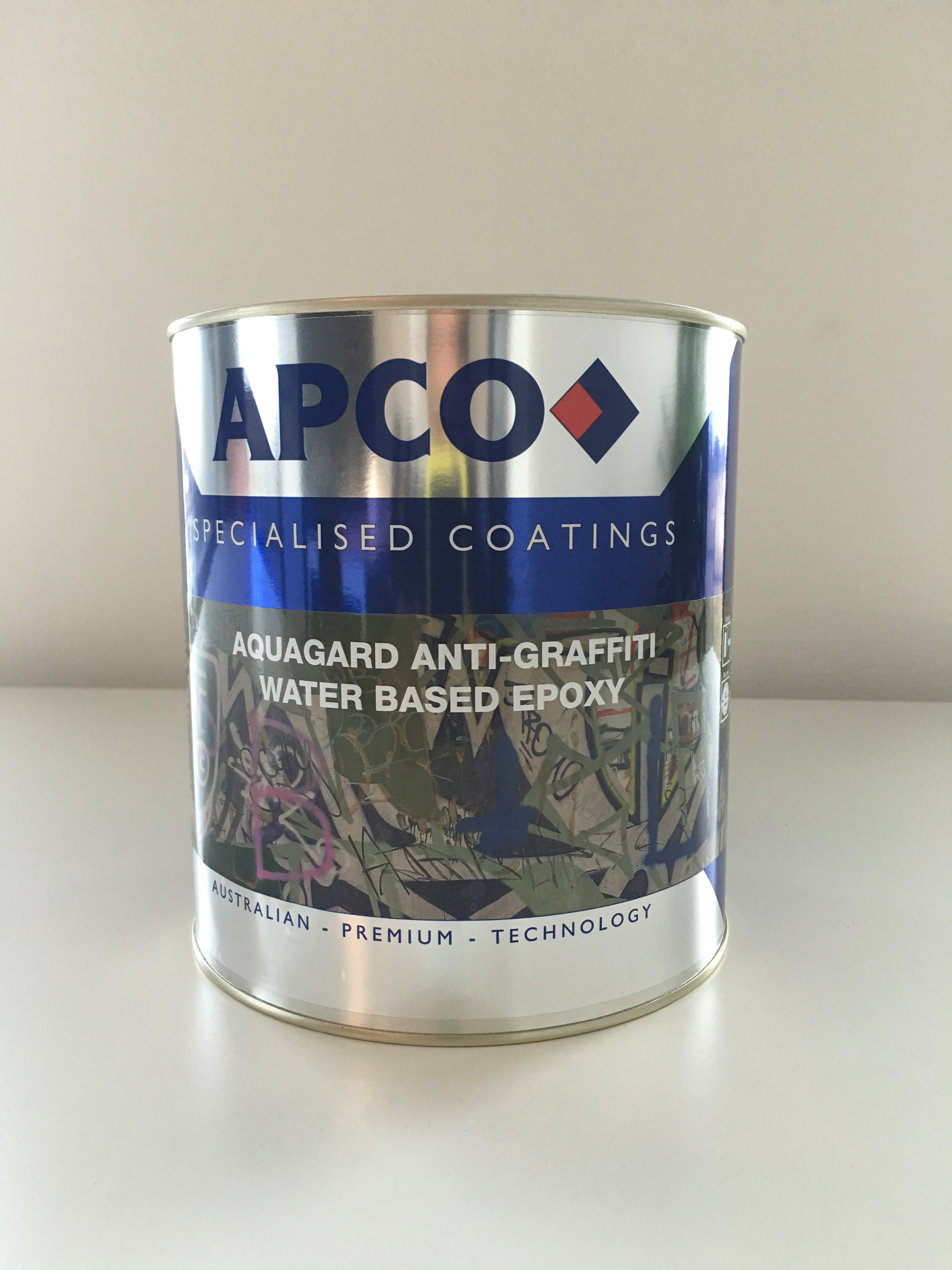 Anti Graffiti Clear Coat For Floors : Aquagard anti graffiti water based epoxy paint online