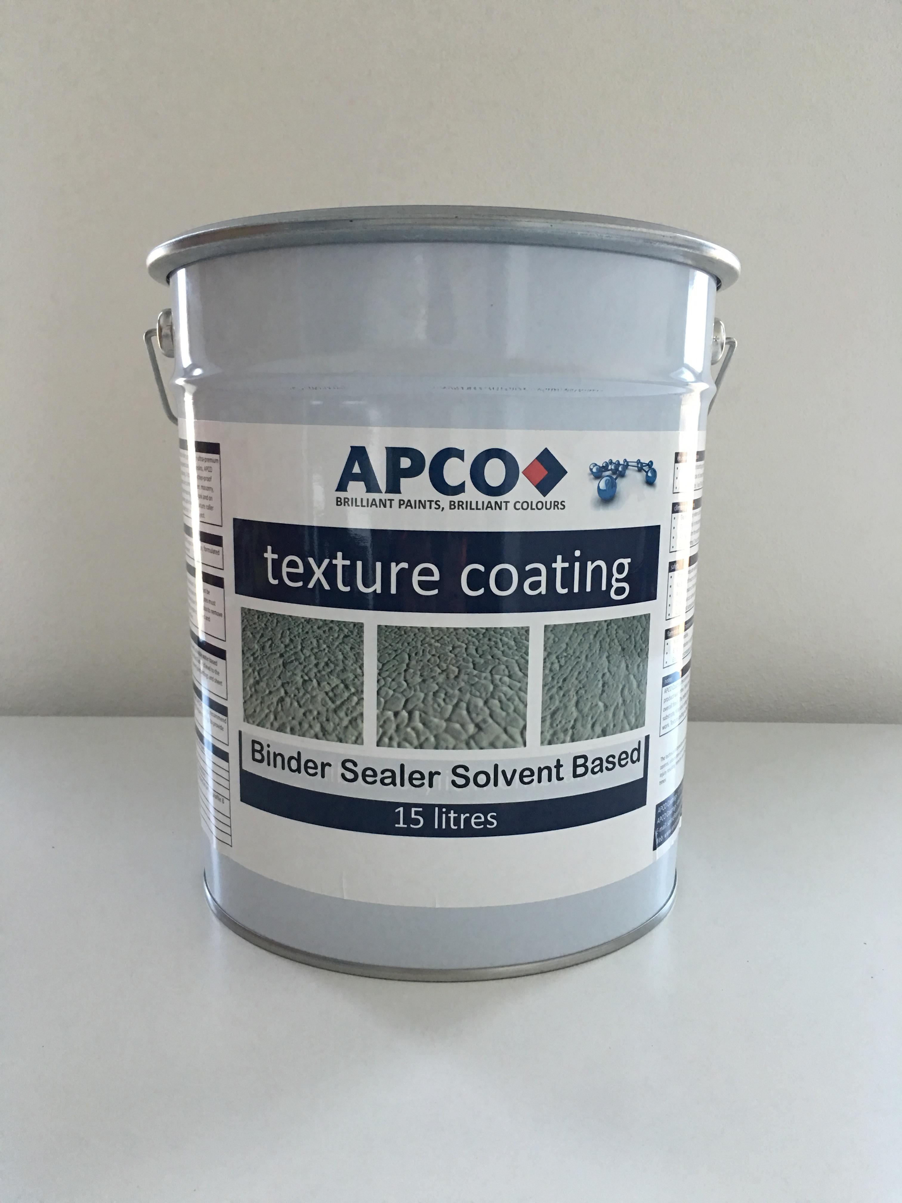 Texture Binder Sealer Solvent Based Paint Online