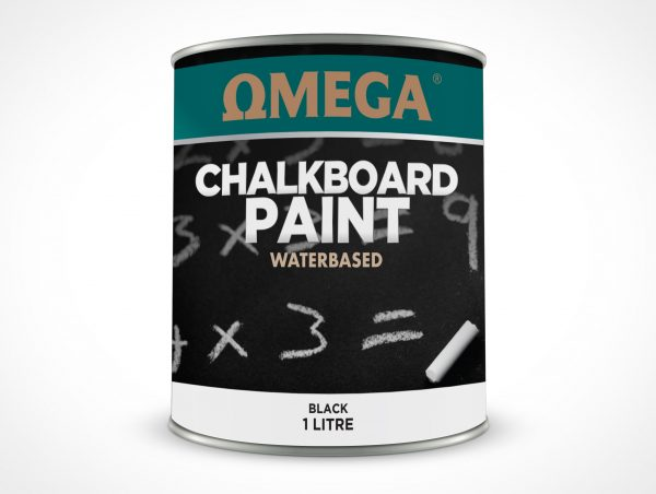 Omega chalkboard water based
